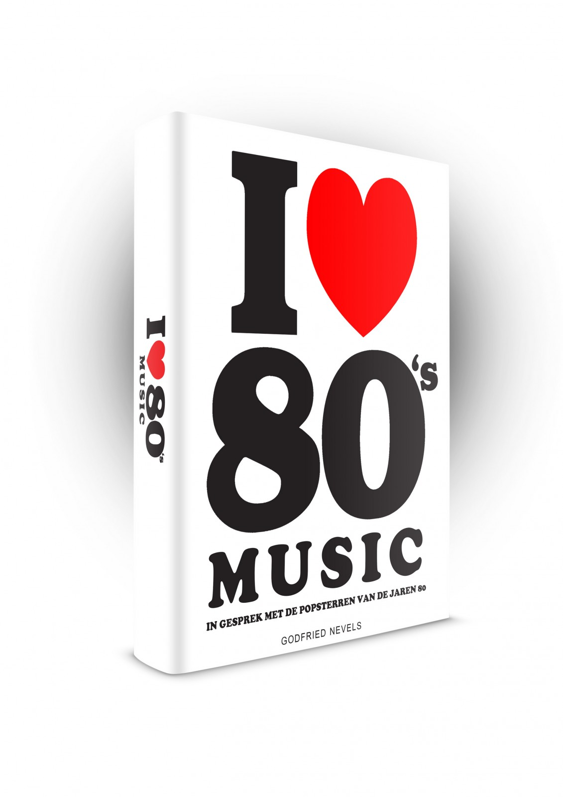 I Love 80's Music - 3D - voorkant